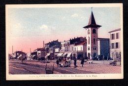 CROS-DE-CAGNES -  ( A. M. ) - N° 10460 - Le Boulevard De La Plage  ( éditions D. Felce ) - Vallauris