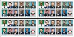 Burundi  2012 OCBn° Bloc 278-281 *** MNH Cote 70 € Présidents De Burundi Presidenten - Burundi