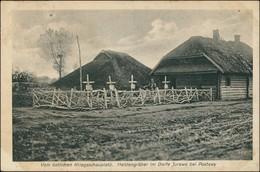 Postcard Pastawy Поставы, Postawy Dorf Jurewo (Witebesk) 1917 - Weißrussland