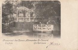 ENGHIEN - Pensionnat Des Dames Allemandes St Léonard / La Terrasse / Edit. DUWEZ / Voyagée 1902 - Edingen