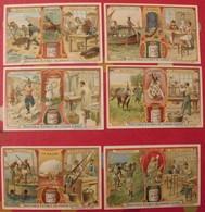 4 Chromo Liebig : Nacre écaille Ivoire Albâtre Corail Corne. 1906. S 855.  édition Française. + 2 Gratuites - Liebig