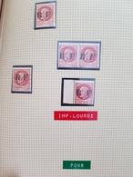 Affaire !!! Timbres Libération PONS, Type I, I Et II Se Tenant Et Une Surcharge Lourde. Cote Mayer 145€ - Liberation