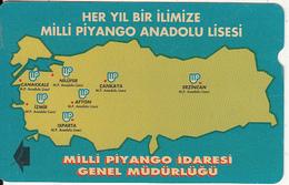 TURKEY - Milli Piyango(100 Units), 07/95, Used - Turquie
