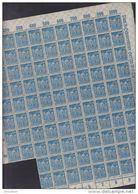 INFLA DR 239, Teilbogen Mit OR Und HAN (96 Marken), Postfrisch ** - Deutschland