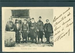 Costumes Grecs Crètois - Petit Pli D'angle Bas Gauche - Griechenland