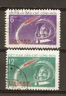 Viêt-Nam 1961 - Gagarine - 1er Cosmonaute - Série Complète° - 228/229 - Vietnam