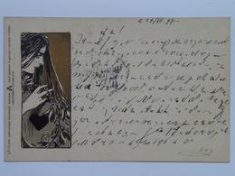 Philipp & Kramer Wien Wiener Kunstler Postkarte Serie III/6 Moser Koloman Kolo - Moser