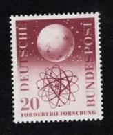 1955  24. Juni Forschung Mi DE 214 Sn DE 731 Yt DE 88 Sg DE 1140 AFA DE 1177 Postfr. Xx - [7] République Fédérale
