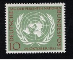 1955  14. Okt. UNO Mi DE 221 Sn DE 736 Yt DE 97 Sg DE 1147 AFA DE 1184 Postfr. Xx - [7] République Fédérale