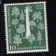 1955  22. Okt. Adalbert Stifter Mi DE 220 Sn DE 735 Yt DE 96 Sg DE 1146 AFA DE 1183 Postfr. Xx - [7] République Fédérale