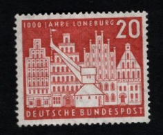 1956  2. Mai Lüneburg Mi DE 230  Sn DE 741 Yt DE 106 Sg DE 1156 AFA DE 1193 Postfr. Xx - [7] République Fédérale