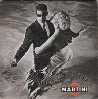 """SOUS-BOCKS  Coaster MARTINI  """"Bikini Di Vita, Baby"""" Rien Au Dos - Sotto-boccale"""