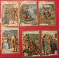 4 Chromo Liebig : Richard III De Shakespeare. 1899. S 603. édition Française. + 2 Gratuites - Liebig