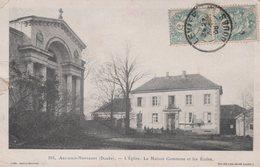 T4  - 25 - Arc Sous Montenot - L'église La Maison Commune Et Les écoles - Frankrijk