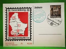 Luxemburg, Tag Der Briefmarke 1941 - 1940-1944 Duitse Bezetting