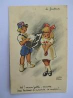 Humour_ Illustrateur André PENAC_ LE FACTEUR_hé Mam' Zellz Encore Des Lettres D Amour_ - Illustrateurs & Photographes
