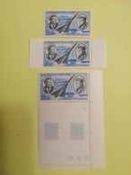 Poste Aérienne Numéro 44. Coin Daté - Airmail