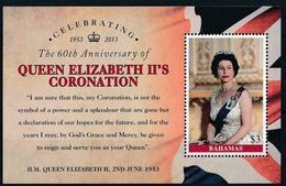 BAHAMAS : Sheet 60th Anniv. Quens Coronation   MNH - Bahamas (1973-...)