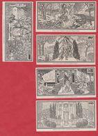 5 Mois De L'année. Les Mois De Février Mars, Avril, Août Et Décembre. Composition D' Eugène Grasset. Larousse 1931. - Documents Historiques