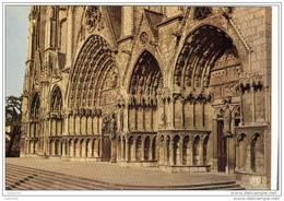 CPM Bourges,cathédrale St Etienne.ed:du Lys Num:63 - Bourges