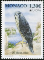 MONACO 2019 Europa CEPT Peregrine Falcon Bird Eagle Birds Of Prey Animals Fauna MNH - Eagles & Birds Of Prey
