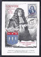 Carte Federale Journee Du Timbre 1947 Sidi Bel Abbes - Lettres & Documents