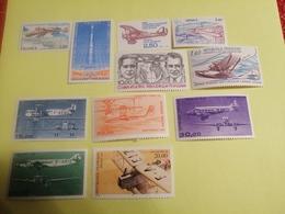 Poste Aérienne Numéro 51,52, 53,54,55,56,57,58,59,60,61 - Airmail