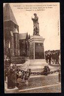 TANNAY -  ( Ardennes ) - Monument Commémoratif De La Grande Guerre Inauguré Le 17 Juillet 1921 ( A. Suzaine Fils ) - Other Municipalities