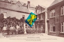 FRAMERIES-lez-MONS - Pensionnat Du Sacré Cœur Dirigé Par Les Sœurs De La Providence - Partie De La Cour Des Externes - Frameries