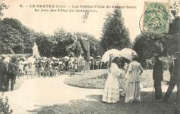 LA CHATRE LES PETITES FILLES DE GEORGES SAND LE JOUR DES FETES DU CENTENAIRE - La Chatre