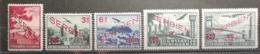 Serbie 1941 / Yvert Poste Aérienne N°11-15 / * / Occupation Allemande - Serbie