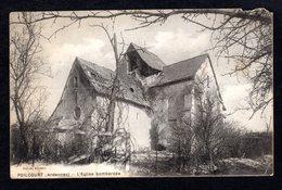 POILCOURT-  ( Ardennes ) - L'église Bombardée - Other Municipalities