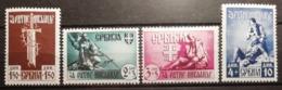 Serbie 1943 / Yvert N°68-71 / * / Occupation Allemande - Serbie