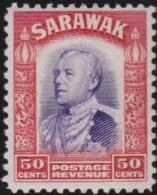 Sarawak   .    SG  .     120     .     *      .   Mint-hinged      .   /   .   Ongebruikt - Sarawak (...-1963)