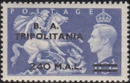 Tripolitana     .    SG   .    T 34      .   **    .  MNH     .   /   .   Postfris - Great Britain (former Colonies & Protectorates)