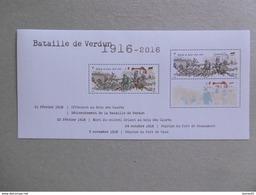 2016 BF 141 * * NO YVT 5063 ET 5063A CENTENAIRE DE LA BATAILLE DE VERDUN - Blocs & Feuillets