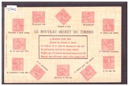 LANGAGE DES TIMBRES POSTE FRANCAIS - LE NOUVEAU SECRET - TB - Briefmarken (Abbildungen)