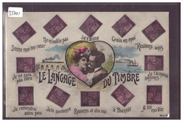 LANGAGE DES TIMBRES POSTE FRANCAIS - TB - Briefmarken (Abbildungen)