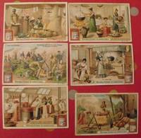 5 Chromo Liebig : L'art Culinaire. 1903. S 718. + 1 Gratuite - Liebig