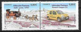 France 2013 N° 4749/4750 Neufs Se Tenant, Europa Véhicules Postaux, à La Faciale - Francia