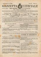 B 2999  -  Gazzetta Ufficiale Del Regno D'Italia,  1945 - Decreti & Leggi