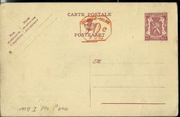 Carte N° 119. I. FN. M 1 P 010 (lion Héraldique) - Postwaardestukken
