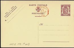 Carte N° 119. I. FN. M2. P 013 (lion Héraldique) - Postwaardestukken