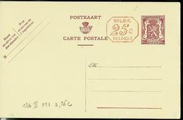 Carte N° 126. II. NF. M1.  25 C Rouge (lion Héraldique) - Postwaardestukken