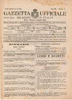 B 3000  -  Gazzetta Ufficiale Del Regno D'Italia,  1945 - Decreti & Leggi