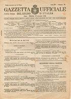 B 3001  -  Gazzetta Ufficiale Del Regno D'Italia,  1945 - Decreti & Leggi