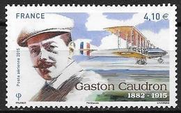 France 2015 Poste Aérienne N° 79, Gaston Caudron, à La Faciale - 1960-.... Nuovi