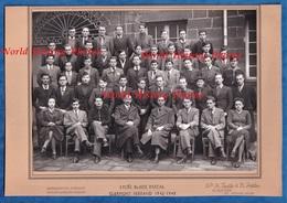 Photo Ancienne - CLERMONT FERRAND - Lycée Blaise Pascal - 1942 / 1943 - Classe D' Etudiant - Faluche Insigne - Professions
