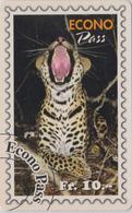 Télécarte Suisse Teleline - Série ANIMAL & TIMBRE - FELIN - Feline & STAMP Phonecard  - 161 - Postzegels & Munten
