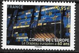 France 2015 Service N° 163 Neuf Conseil De L'Europe à La Faciale + 10% - Servizio